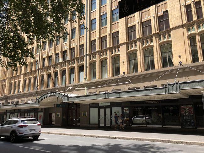 SFC修行④、シドニーに1泊2日の行程です<br />(実際には前後機中泊なので1泊4日というのかな)<br /><br />ハプニングありましたが、なんとかホテルにチェックイン!<br /><br />ホテル周辺の街歩き編です