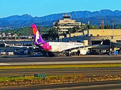 Oahu-1 ダニエル・K・イノウエ空港~ヌアヌパリ 観光バスで ☆ホノルル市内観光へ