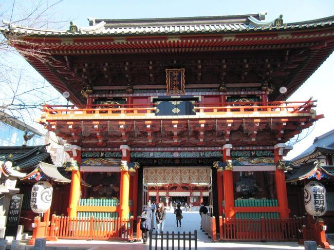 2020年2月11日(火)は建国記念日で祝日。東京は朝から快晴。しかし、風が冷たい一日で参拝後はコンビニに寄って日本酒でのどを潤し、有名なお蕎麦屋さんでカレー南蛮そばを食べ・・・すっかり、ぽかぽかになりました。<br /><br />東京に居ながら、いまだ神田明神に行ったことがないので行って見ました。<br />御茶ノ水駅 →ニコライ堂 →湯島聖堂 →神田明神 →神田まつや →JR神田駅