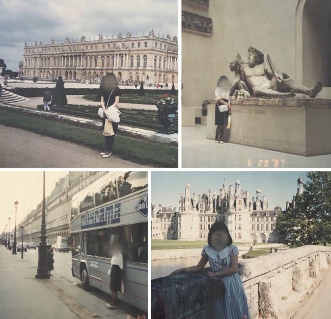 1987年6月☆2度目のパリ☆アエロフロートで行くパリ8日間...えっ!自由席なの?