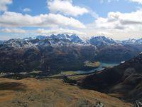 シニアー夫婦のスイスゆっくり旅行30日  (23)ピッツ.ナイルに上がりました(続10月10日)