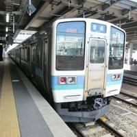 青春18きっぷ:乗鞍岳&奥飛騨温泉執筆逗留記・その5.バスと普通列車を乗り継いで横浜へ帰宅。