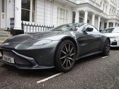 London(3.5) Aston Martin のとまる高級住宅街を歩く。T.S. Eliot も住んでいました。