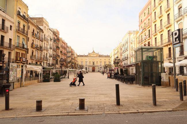 バルセロナ 冬の世界遺産 帰国
