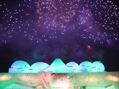旭川冬まつりと氷彫刻ライトアップ