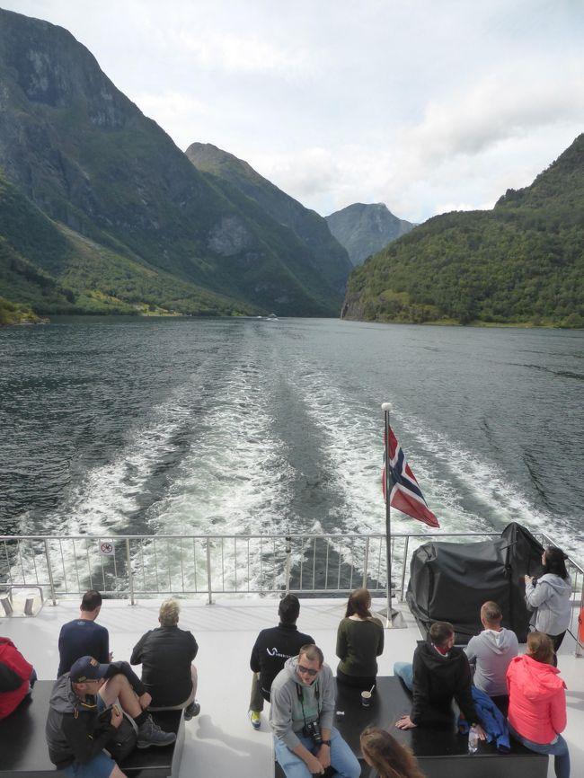 5歳娘を連れて夏休みスウェーデン・ノルウェー11日間の旅11-周遊チケットでソグネフィヨルド