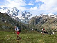 アルプス5大名峰と絶景列車の旅 12 ローテンボーデンからリッフェルベルク間のハイキング
