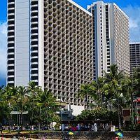 Oahu-46 ワイキキビーチ マリオットH レストランで ☆朝食3回目&モアナテラス-ランチ