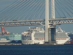 横浜ぷかりさん橋付近から見られる風景