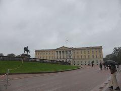 5歳娘を連れて夏休みスウェーデン・ノルウェー11日間の旅12-一日中雨のオスロ中心部観光