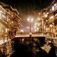 山形★雪の銀山温泉
