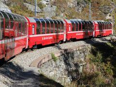 シニアー夫婦のスイスゆっくり旅行30日  (24)ベルニナ急行でイタリアのモンツァに移動しました(10月11日)