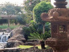 Oahu-56 空港で-ひととき  日本/中国風庭園・ハワイの植物園 ☆搭乗前-リフレッシュを