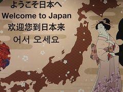成田国際空港 NH183便 定刻到着-日本入国 ☆満足!〔もりだくさんハワイ6日間〕完了
