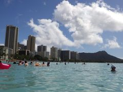 2020年1月 ほぼワイキキで過ごしたハワイ④:5日目・帰国日~エッジ・プールとワイキキビーチ満喫、カイマナ・ファームカフェなど