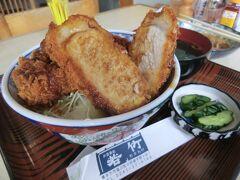 青春18きっぷ:会津墓参&赤埴山登山・その1.会津でソースカツ丼を食べよう。