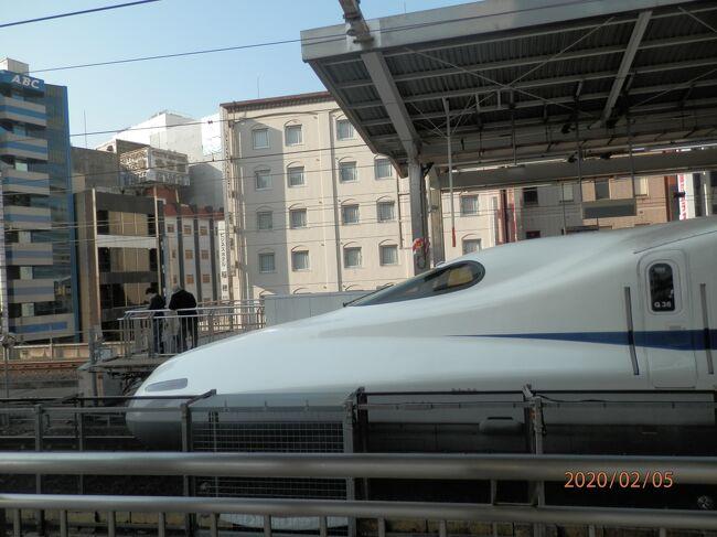 5水曜1あさ富士山みえる15年ぶりの新幹線