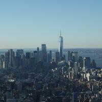 真冬のニューヨーク 高層ビルの街