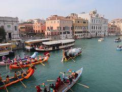 初めてのベネチアのカーニバル  (2)水上パレードとサンマルコ広場での仮装