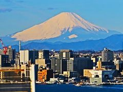 1  坂東三十三観音霊場 巡拝/勤行体験 バス車窓の風景 ☆富士山・大山・相模湾を眺め