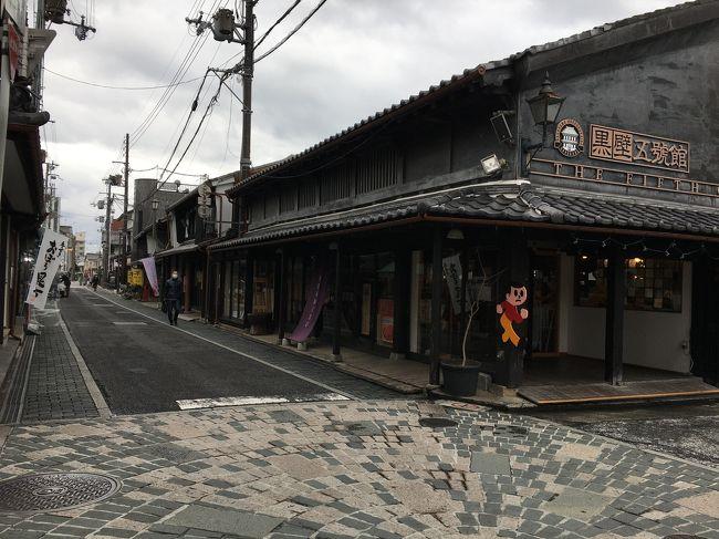 タイトルはミルクボーイの滋賀ネタから。<br />一泊2日の滋賀旅行、長浜編です。