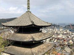 文学の街尾道の坂道を登っておのみち文学の館、天寧寺、千光寺を訪れる
