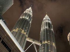 マレーシア:まぶしくて驚いたペトロナスツインタワー