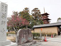 奈良ホテルに泊まる1泊2日の旅~2日目:元興寺・唐招提寺・薬師寺