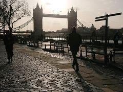 2020年冬ロンドン�テムズ川ランニング