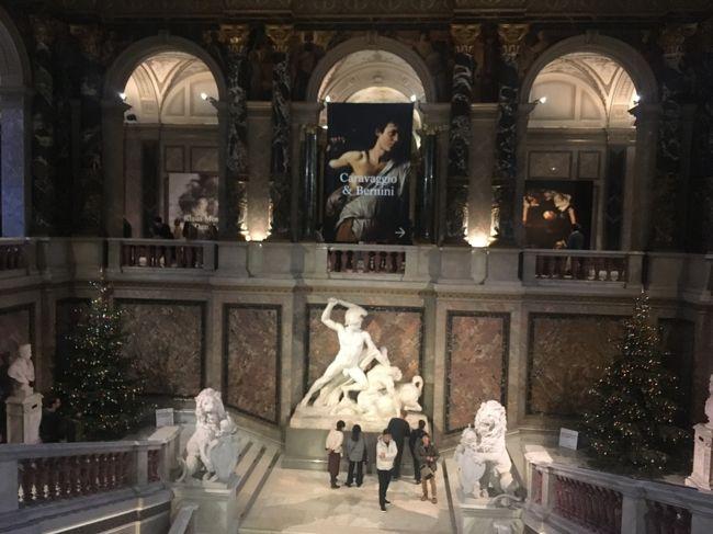 2020年の年始、ウィーンに滞在し、ウィーン美術史美術館に訪問しました。<br />「バベルの塔」に代表されるブリューゲルの作品を鑑賞しました。<br />また、同時期にちょうど開催されていたカラヴァッジョ展を鑑賞しました。入場料がやや高額でしたが、迫力のある作品を見ることができ満足です。
