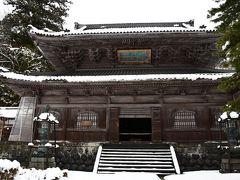 雪の永平寺
