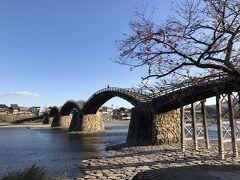 2019年11月錦帯橋(少しだけ宮島)