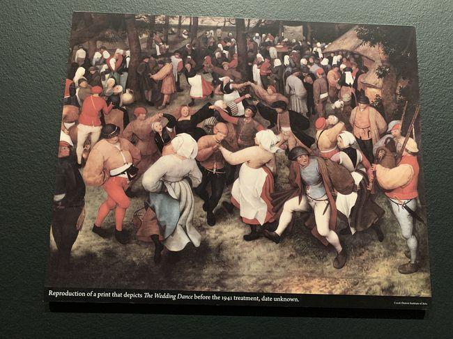二度目のDIA、<br /><br />企画はアフリカン=アメリカンアートと<br />ブリューゲル「結婚祝宴」の秘密。<br /><br />レンブラント、ルーベンスなどのオランダ絵画、印象派、ピカソ、アメリカンなど多数を堪能。<br /><br />大ホールの壁画は圧巻だが当日はパペットショー。<br /><br />