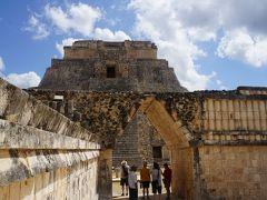 年を感じるメキシコ8日間の旅 3日目 ウシュマル遺跡