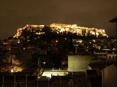 帰国前夜はアテネに1泊。2019年大晦日にギリシャを発ち、機上で迎えた2020年!