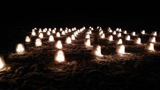 1泊2日 栃木 (3-3) 湯西川温泉のかまくら祭り 暖冬で雪が少なかったけど
