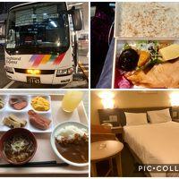 雪の遣いが往く北信の旅 その① 格安1500円の高速バスで長野へ~ホテルJAL CITY長野