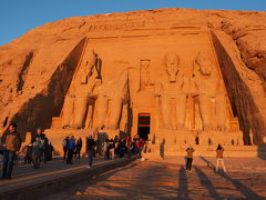 4日目-1 ラムセスデイ前日のアブシンベル神殿