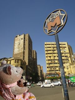 8年ぶり8度目のエジプト8日間(11)思い出のタハリールとファラキで迷子になる