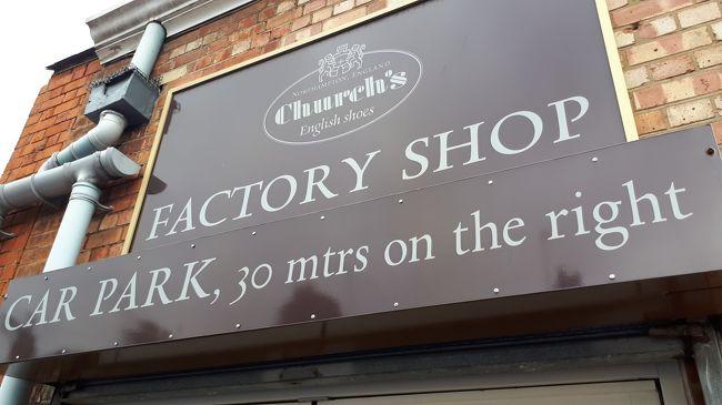 ロンドンから車で2時間高級靴工房が集まるノーサンプトンへ行ってきました。 Church's チャーチやJohn Lobbジョンロブ等の高級シューズの工房が集まりファクトリーショップではお手頃な値段で靴が買えます。ミュージカルKinky Bootsの舞台となった街です。