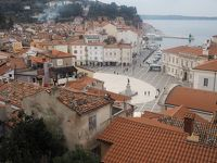 スロヴェニアの美しい小さな港町、ビラン