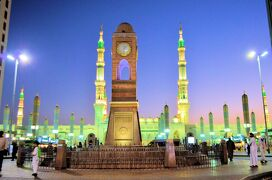 6.サウジのメディナにある「預言者のモスクal-Masjid an-Nabawi」:サウジ、クルディスタン、イスラエル、ヨルダンの旅