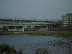 登戸駅周辺の多摩川沿いを歩きました