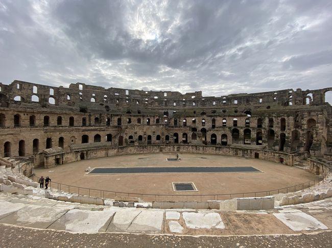 チュニジア旅行二日目、午後からエルジェム円形闘技場跡へ、保存状態が良くてびっくり