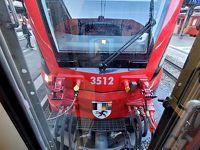 2020 ユーレイルパスでプラプラ。8日目(レーティッシュ鉄道  ベルニナ急行 乗ります!)