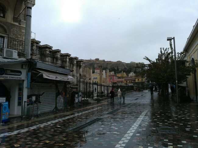中欧・東欧6ヶ国旅行 旅の終着地、雨に降られたアテネー帰国まで