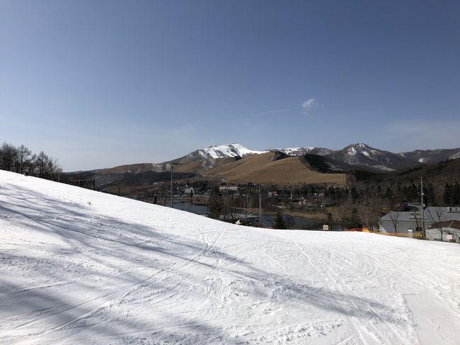 子どもが初スキーにチャレンジしたい、というので、行ってきました白樺リゾート池の平ホテル宿泊。<br /><br />事前に何も調べずに、そのまま予約して行きました。<br />感想としては、悪くなかった、というか、十分楽しめました。<br />スキー場が隣接していてラクだし、初心者向けというか、こどもでも<br />頑張れば滑れるカンジでした。中級者以上には物足りないかもしれませんが<br />目的がスキーとはいえ、子連れのスキーなので、ちょうどいいカンジ。<br />プールは思ったより小さかったですが、こどもたちは滑り台を楽しんでました。<br />家族向けのホテルの食事は、バイキングスタイルになっていることが多いと思います。このホテルでも夕食と朝食がバイキングスタイルでした。<br /><br />バイキングスタイルの食事はは当たりハズレが大きいところもありますが、ここは当たりと思います。<br /><br />種類も多くて、ブッチャケ、食べ過ぎ注意です。<br /><br />子連れの家族旅行というのは、結局のところ、こどもの感想次第で、すべての評価が決まってしまうというところがあります。<br />こどもの評価も◎でした。<br /><br />子どもが大きくなってくると、また違うかもしれませんが、小さなこどもにはウケはよかったです。<br /><br />また行きたいです。