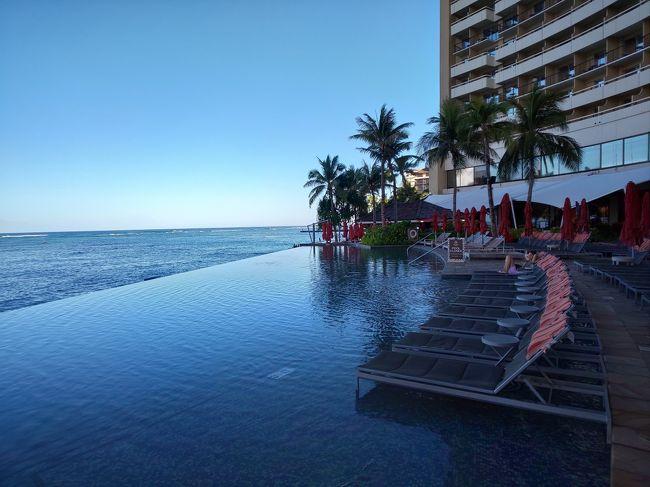 ハワイ通の方々からの情報・アドバイス、検索しまくりで立てたスケジュール。<br /><br />なにより、<br />ハワイでお会いしたかったご夫婦との食事は幸せでした!<br /><br />Cさんの旅行記、憧れのお部屋を真似てリクエストしました。<br /><br />6泊8日 ホテルは<br />モアナ サーフライダー ウェスティン リゾート&スパ(ペントハウス・オーシャン)<br /><br />シェラトン ワイキキ (オーシャン・フロント )