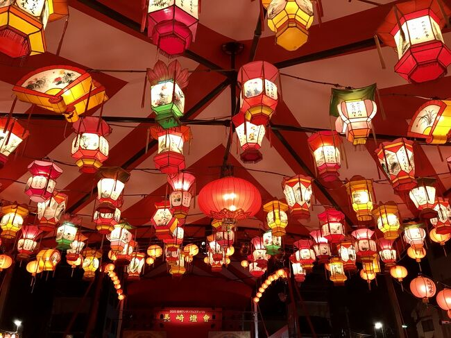 長崎滞在中、5日間連日通ったランタンフェスティバル。