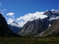 ニュージーランド 南島 ルピナス街道 ③ (絶景!ミルフォード・ロードとミラーレイク)